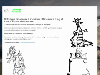 Coloriage Dinosaure A Imprimer Coloriage Dinosaure Fr