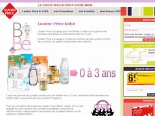 http://www.leaderpricebebe.fr/
