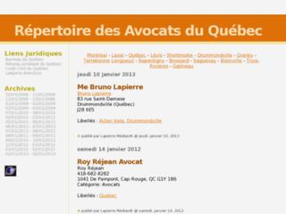 http://avocatsduquebec.blogspot.fr/