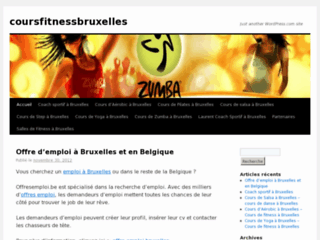 https://coursfitnessbruxelles.wordpress.com/