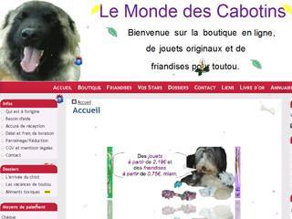 http://www.le-monde-des-cabotins.fr/