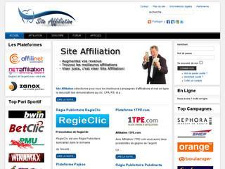 http://www.site-affiliation.fr/