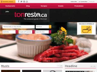 http://www.tonresto.ca/