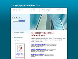 http://recupererdonnees.com/