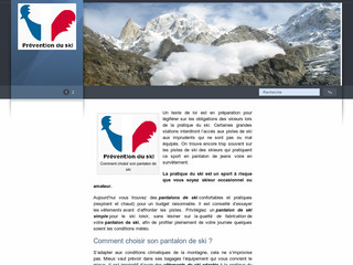 http://www.pantalon-ski.fr/
