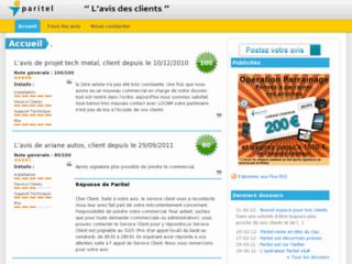 http://www.avis-paritel.fr/