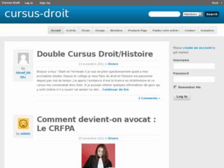 http://www.cursus-droit.fr/