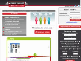 http://www.communaute-investisseurs.com/