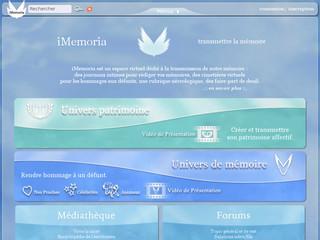 http://www.imemoria.com/univers%20memoire.html