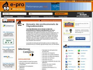 http://www.e-pro-agroalimentaire.fr/