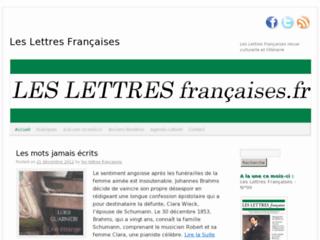 http://www.les-lettres-francaises.fr/