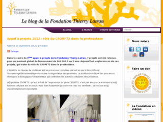 http://blog.fondation-thierrylatran.eu/