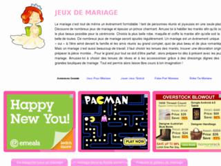 Jouer des jeux de mariage for Jeux de mariage en ligne