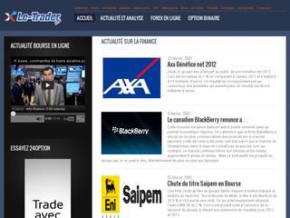 http://www.le-trader.fr/