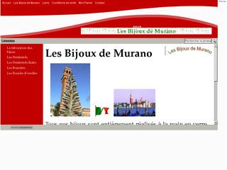 http://www.lesbijouxdemurano.fr/