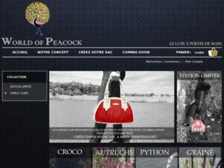 http://www.worldofpeacock.fr/
