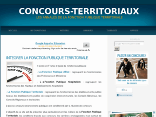 http://www.concours-territoriaux.fr/