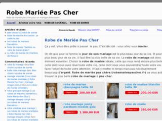 http://robemarieepascher.fr/