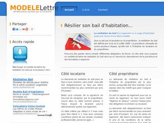 http://modele-lettre-resiliation-bail.info/