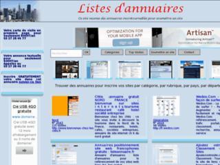 http://www.listeannuaire.fr/