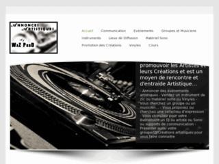 http://www.annonces-artistiques.fr/