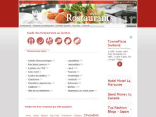 http://www.restaurantsquebecois.com/