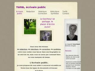 http://yunaroue-ecriture.com/
