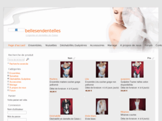 http://bellesendentelles.surinternet.com/