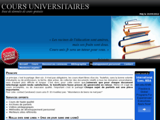http://www.cours-univ.fr/