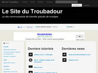 http://www.sitedutroubadour.fr/