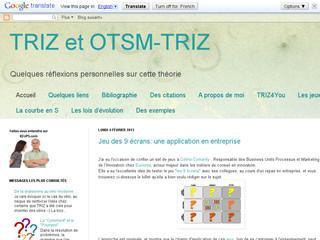http://triz-experience.blogspot.fr/