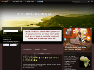 http://www.afriquedocumentaire.com/