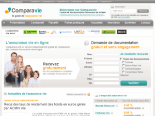 http://www.comparavie.fr/