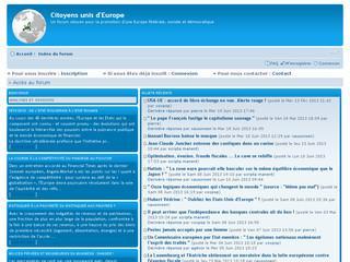 http://www.citoyensunisdeurope.eu/