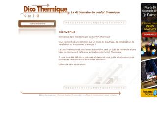 http://www.dico-thermique.com/