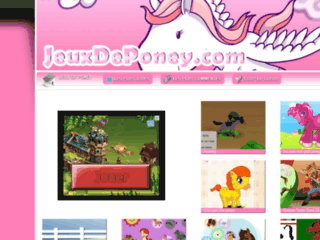 http://www.jeuxdeponey.com/