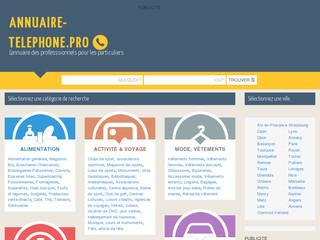 http://www.annuaire-telephone.pro/