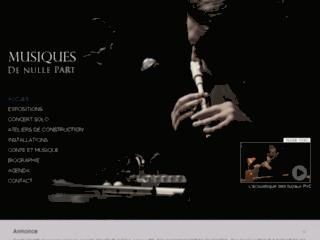 http://www.musiquesdenullepart.com/