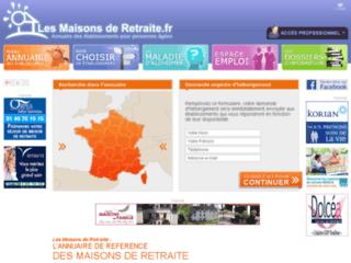 http://www.lesmaisonsderetraite.fr/