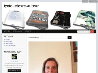 http://lydie-lefevre-auteur.blog4ever.com/