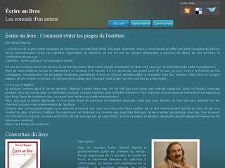 http://www.ecrireunlivre.net/