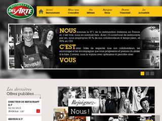 http://recrutement.delarte.fr/