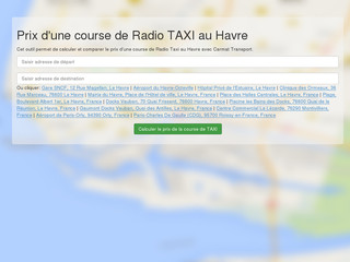 http://www.navettes-taxi-lehavre.com/
