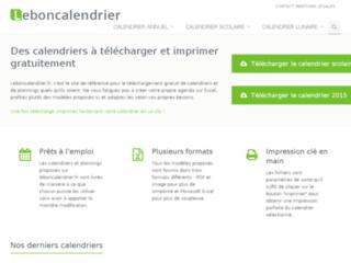 http://leboncalendrier.fr/