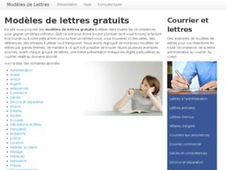 http://www.modeles-de-lettres.fr/