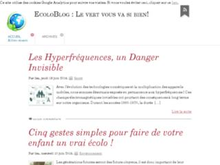 http://www.ecolo-blog.fr/