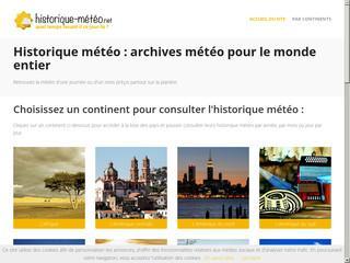 http://www.historique-meteo.net/