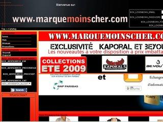 http://www.marquemoinscher.com/