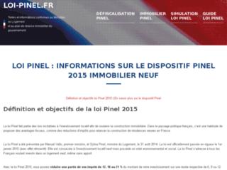 http://www.loi-pinel.fr/