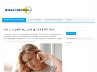 http://www.acouphene-info.fr/